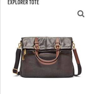 2 fossil purses.
